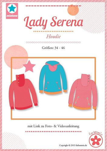 Papierschnittmuster Lady Serena
