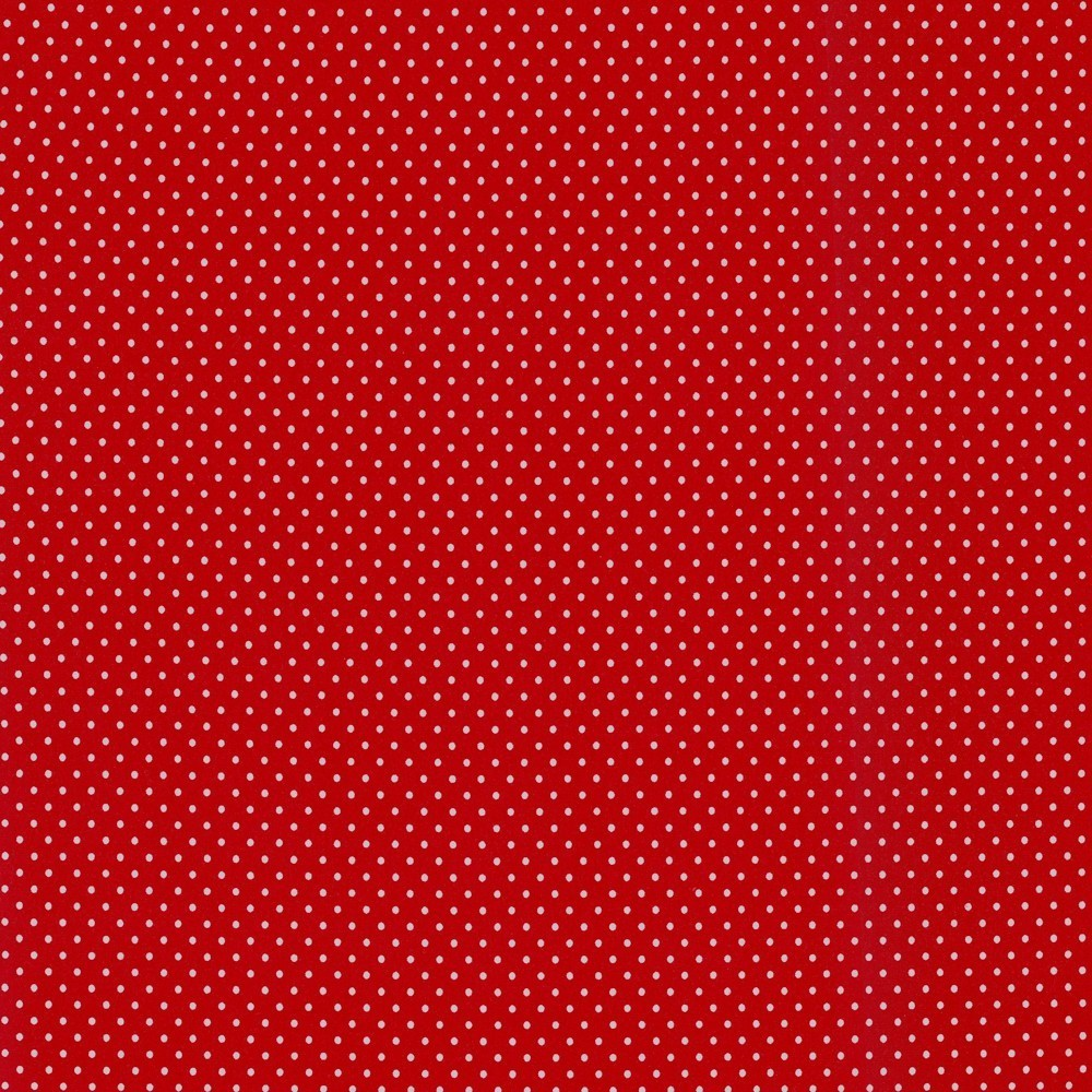 Jersey Punkte rot 3mm